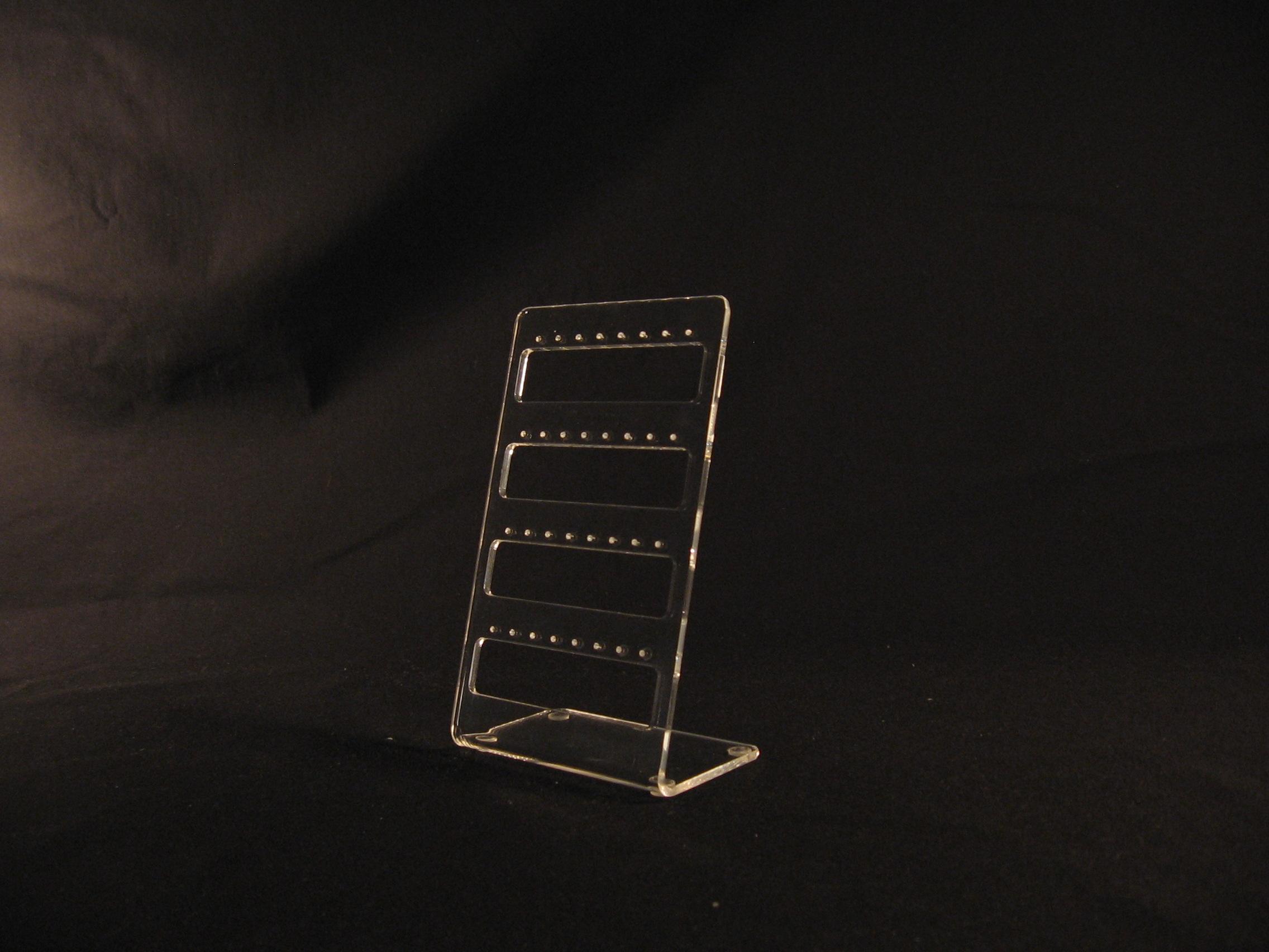 Stoni držač za nakit mindjuse pleksliglas klirit SNG2