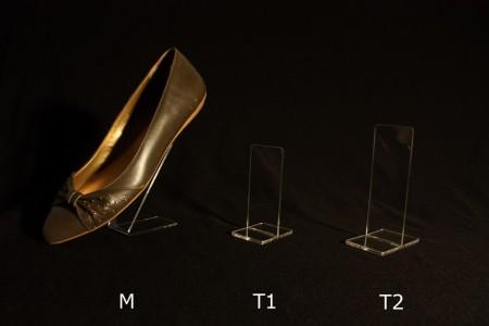 Stalak za cipele pleksiglas klirit M