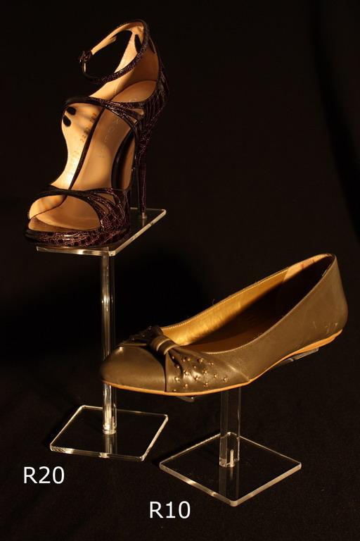 Stalak za cipele pleksiglas klirit R