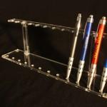 Stoni držač za olovke pleksliglas klirit SO12