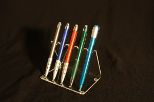 Stoni držač za olovke pleksliglas klirit SO5